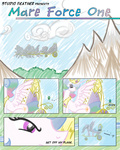 air_force_one comic feather-chan guard_pony parasprite parody princess_celestia