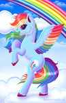 absurdres cloud fannytastical highres rainbow_dash