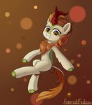 autumn_blaze emeraldgalaxy highres kirin