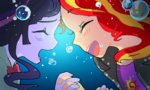 equestria_girls humanized quizia shipping sunlight sunset_shimmer twilight_sparkle