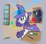rarity the_great_and_powerful_trixie willdrawforfood1