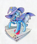 maytee playing_card the_great_and_powerful_trixie traditional_art