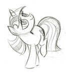 fim_crew lauren_faust production_art sketch twilight_sparkle