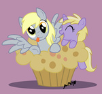 derpy_hooves dinky_hooves muffin scruffytoto