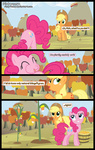 applejack comic foxy-noxy highres pinkie_pie pun vector
