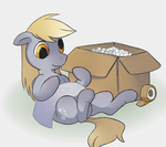 box bubble_wrap cardboard_box derpy_hooves happycrumble