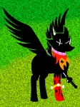 artist_unknown crossover homestuck jack_noir ponified