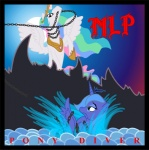 album_cover artist_unknown dio holy_diver parody princess_celestia princess_luna