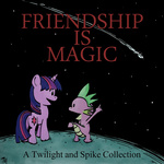 calvin_and_hobbes highres parody spike tranquilmind twilight_sparkle