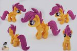 epicrainbowcrafts highres photo plushie scootaloo toy