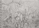 everfree_forest fluttershy forest traditional_art ulyanovetz zecora