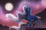 famosity moon nighttime princess_luna stars