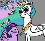:i :p madameghosts meme princess_celestia princess_twilight twilight_sparkle you_wot_m8