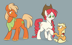 apple_delight applejack egophiliac g1 generation_leap parents sliceofponylife