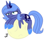 big moon princess_luna transparent universal-tiger