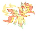 alicorn spacekitsch sunset_shimmer