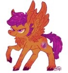 comickit lowres scootaloo
