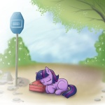 filly madmax sleeping twilight_sparkle
