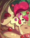 absurdres apple_bloom apples highres rockset tree