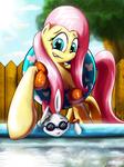 angel fluttershy goggles pool world8