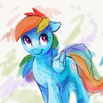highres rainbow_dash thefloatingtree