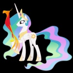 blackm3sh philomena princess_celestia transparent