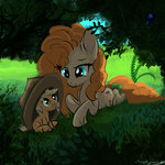 absurdres applejack filly highres malajahr pear_butter