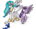 big erockertorres princess_celestia princess_luna princess_twilight twilight_sparkle