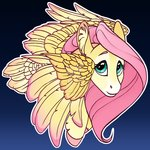 fluttershy highres turnipberry watermark