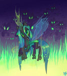 changeling queen_chrysalis thequinkan