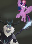 absurdres highres justsomepainter11 magic princess_twilight storm_king twilight_sparkle