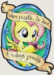 butterfly fluttershy kelly-jo watercolor