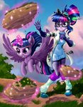 absurdres equestria_girls harwick highres humanized magic princess_twilight species_confusion twilight_sparkle