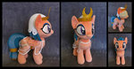 absurdres blindfold crown dress fireflytwinkletoes highres photo plushie somnambula toy