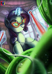 absurdres fabric gems glasses highres jowybean magic rarity