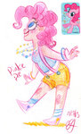 bracelet egriz highres humanized pinkie_pie sketch