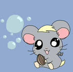 derpy_hooves hamster hamtaro hikarixxkh species_swap sunflower_seed
