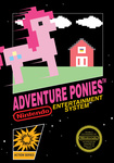 adventure_ponies game_cover nintendo parody pinkie_pie riokenng3