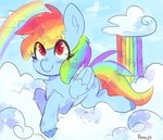 aarwyt cloud rainbow_dash