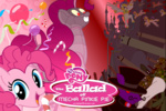 background_ponies comic flamingo1986 guard_pony original_character pinkie_pie robot