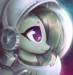highres marble_pie mirroredsea space_suit