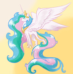 dapuddingz huge_hair princess_celestia