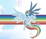 cloudsdale goggles mlpm rainbow_dash wallpaper