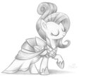 absurdres clothes dress fluttershy flutterstormreturns highres traditional_art