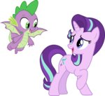 absurdres cloudyglow highres spike starlight_glimmer vector