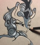 autumn_blaze emberslament kirin traditional_art