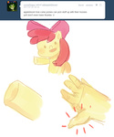 apple_bloom ask askapplebloom hands i_shall_not_use_my_hooves_as_hands