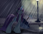 grennadder highres rain rarity umbrella wet_hair