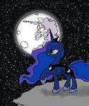 cloud mare_in_the_moon moon princess_luna space tubekoma