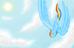 huge_wings mspaint o-the-lawyer rainbow_dash sun